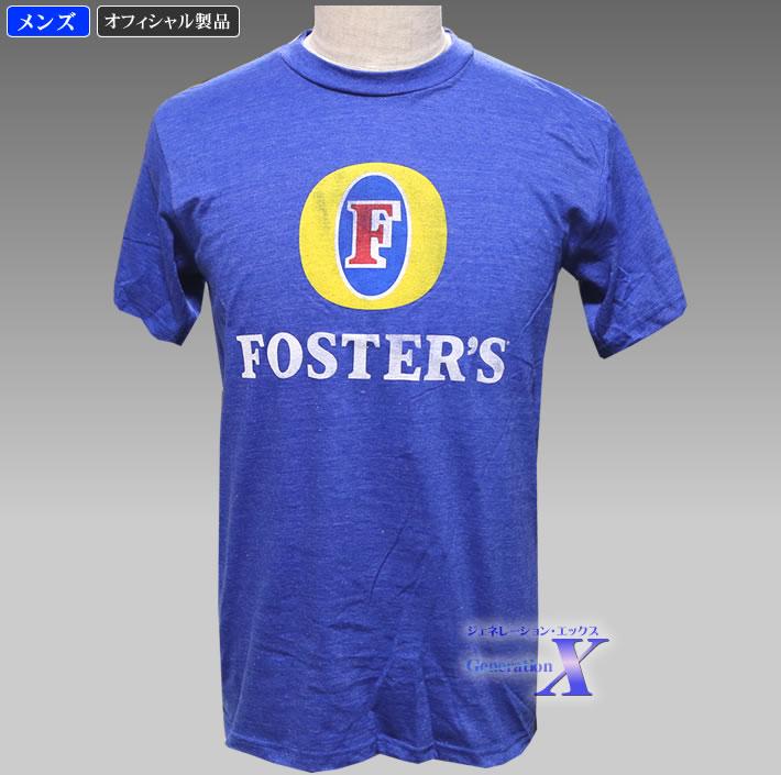 訳あり 珍しい 爆買いセール フォスターズ ブルー ビール公式Tシャツ