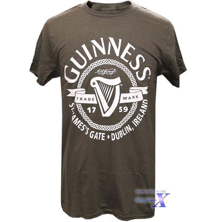 ハリウッドセレブに大人気 ギネスビール 全国どこでも送料無料 オフィシャルTシャツ 驚きの価格が実現 メンズ サークル