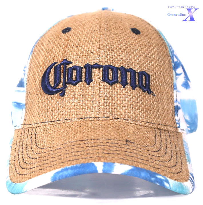 ハリウッドセレブに大人気 返品不可 毎日続々入荷 USビール帽子 Coronaコロナビール米国公式製品 帽子 ワラ編みハット