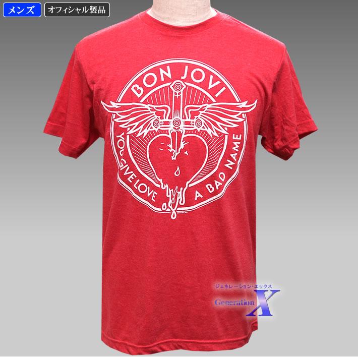 カッコいい ボン ジョヴィ公式製品 宅配便送料無料 メンズTシャツ ランキング総合1位 バッドネーム