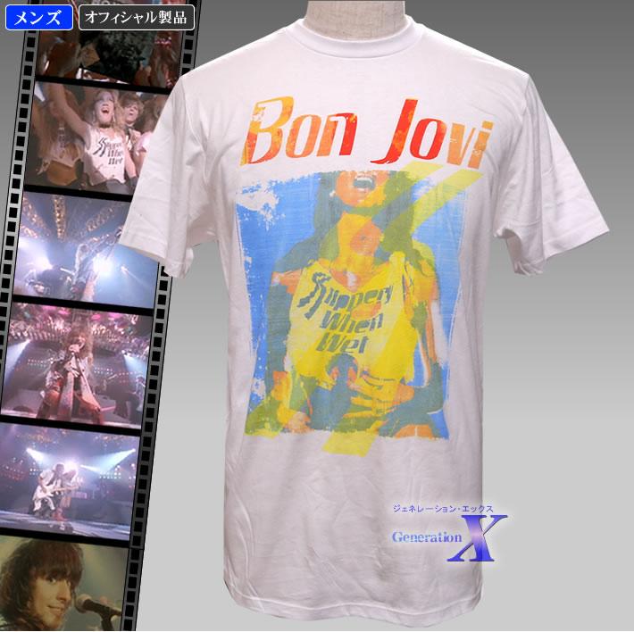 爽やかな色合い 高品質 ボン 直輸入品激安 ジョヴィ公式製品 スリッパリー ウェン ウェット メンズTシャツ