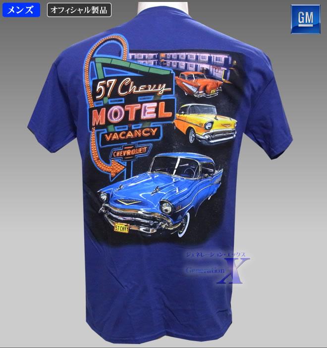 所ジョージ 並行輸入品 ファッション シボレー オフィシャルTシャツ モーテル メーカー直送