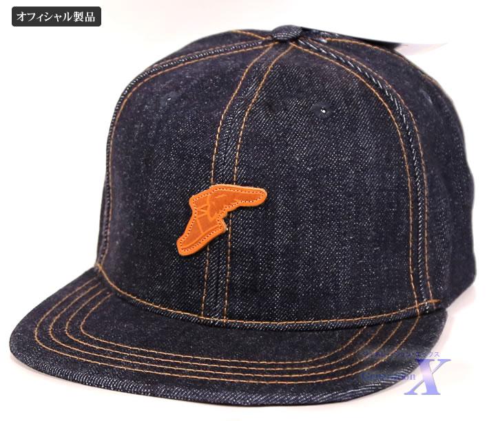 【グッドイヤー オフィシャル製品】帽子・キャップ(デニム・フラットブリム) Goodyear