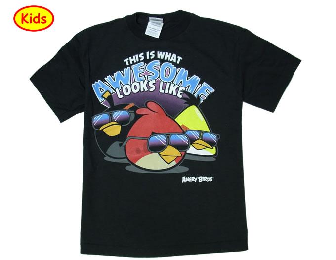 世界5千万人が熱中するアングリーバード公式Tシャツ アングリー バード子供用Tシャツ birds 推奨 angry 売れ筋ランキング オーサムルック
