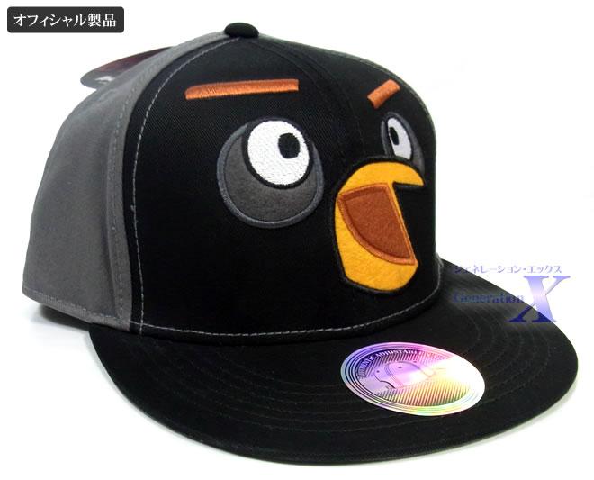 世界5千万人が熱中するアングリーバード アングリーバード公式製品ブラックバード帽子 [並行輸入品] セール品