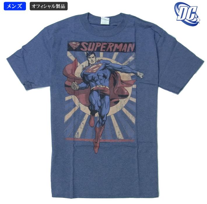 クラッシックなデザインがGOOD DCコミックオフィシャル 売店 スーパーマン アクション メンズTシャツ 毎日激安特売で 営業中です