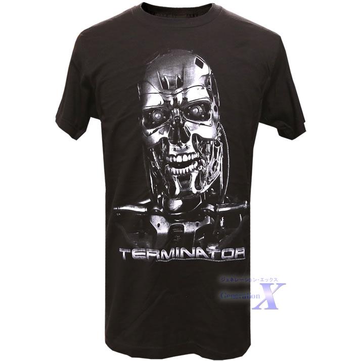 カッコいい ターミネーター 市場 オフィシャルTシャツ T-800 メンズ 市場