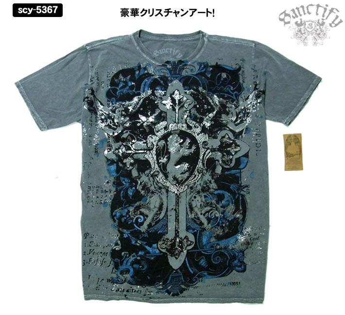 ハリウッドセレブに大人気の新ブランド Sanctify サンクティファイ 年間定番 キリスト メンズ 激安通販 Tシャツ5367