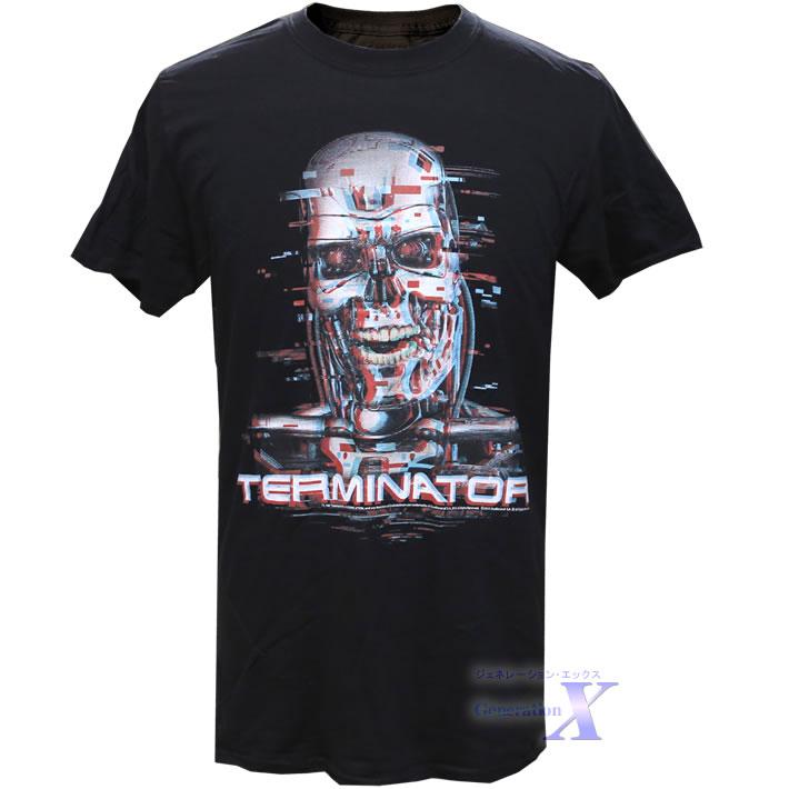 カッコいい 登場大人気アイテム ターミネーター オフィシャルTシャツ 期間限定 メンズ ブラー