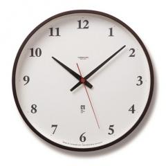 Lemnos レムノス Plywood clock 電波時計 サービス ブラウン LC05-01W BW シンプル 掛け時計 インテリア 国産 置き時計 祝い ギフト プレゼント 時計 ラッピング 新登場 デザイン時計 おしゃれ クロック 壁掛け