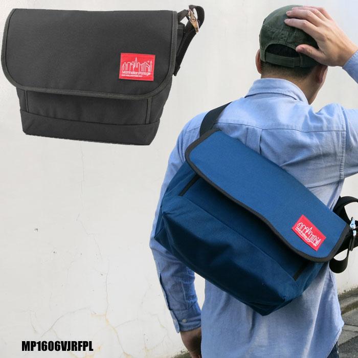 【正規取扱店】マンハッタンポーテージFront Pocket PVC Vintage Messenger (MP1606VJR)[全2色]フロントポケット ヴィンテージメッセンジャーメンズ レディース【鞄】 11302F(trip)新生活 通勤
