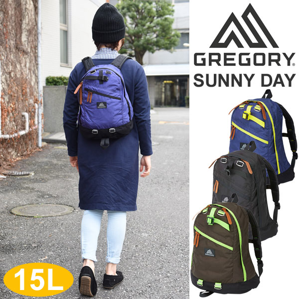 GREGORY彈簧交易葛利高理GREGORY SUNNY DAY(15L)[全四色]sanideiredisu(女性用)小孩(小孩用)_11603F(trip)