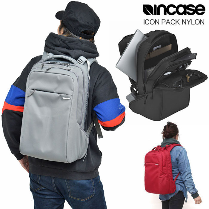 インケース Incase アイコンパック ナイロン バックパック[全4色]ICON PACK NYLON メンズ レディース【鞄】_11611E(trip)