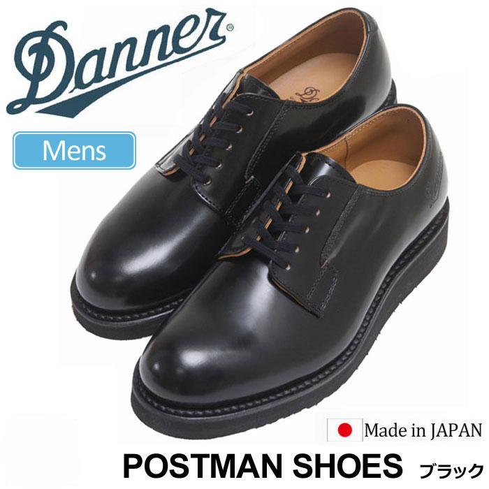 【正規取扱店】ダナー DANNER 革靴 ビジネスシューズ メンズ ポストマンシューズ ブラック 24.5-28cm POSTMAN SHOES D214300 D4300【靴】1910trip