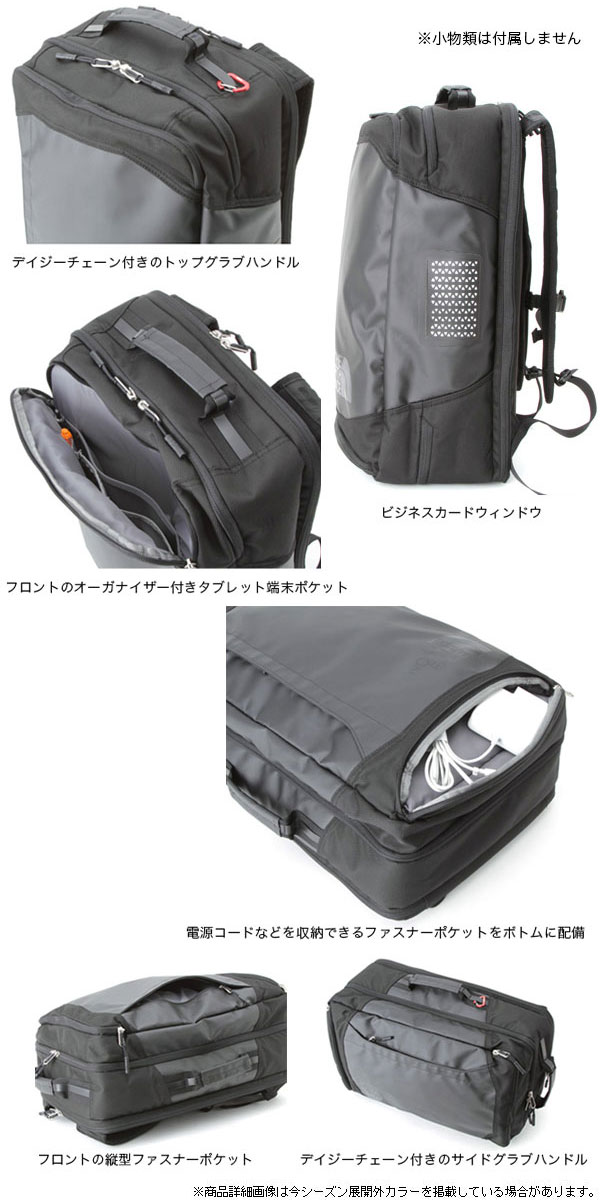 北臉THE NORTH FACE REFRACTOR DUFFEL PACK[黑色](NM81501)rifurekutadaffurupakkuyunisekkusu(男女兼用)_11504E(trip)