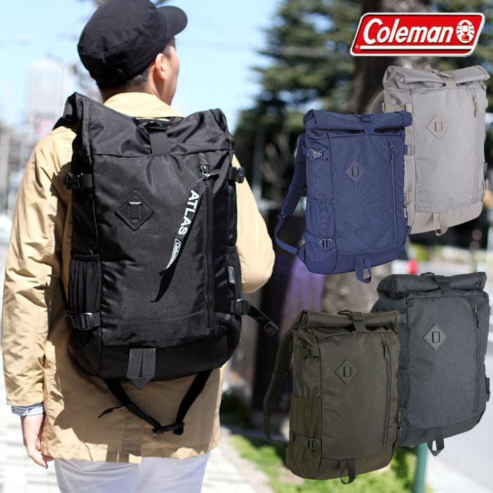 コールマン リュック アトラス ロールトップ(33L)[全5色]Coleman ATLAS ROLLTOP メンズ レディース【鞄】_11802E(trip)_sr0