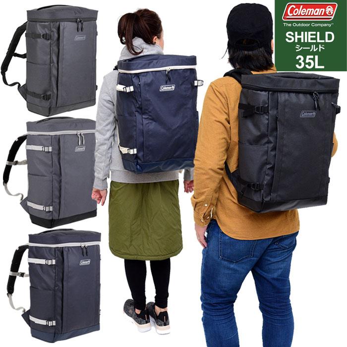 【正規取扱店】コールマン スクエアリュック シールド35(35L)[全3色]Coleman SHIELD35 メンズ レディース【鞄】 11802E(trip)新生活