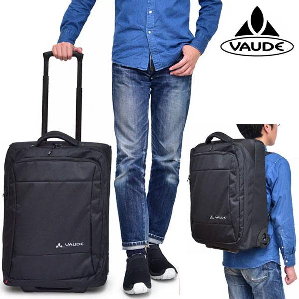 【正規取扱店】ファウデ キャリーバッグ サッポロ2(35L)[ブラック](12660)VAUDE SAPPORO II メンズ レディース【鞄】 1806trip出張 旅行バッグ