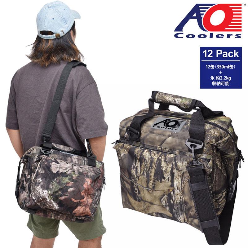 【正規取扱店】AOクーラーズ AO Coolers クーラーバッグ 保冷バッグ 12パックキャンバスソフトクーラーデラックス 11L モッシーオーク AOMO12DX 20SS【鞄】2006trip