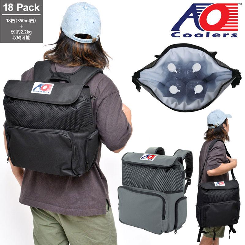 【正規取扱店】AOクーラー AO coolers 18パックバックパックソフトクーラー[全2色]メンズ レディース【鞄】 1908trip新生活