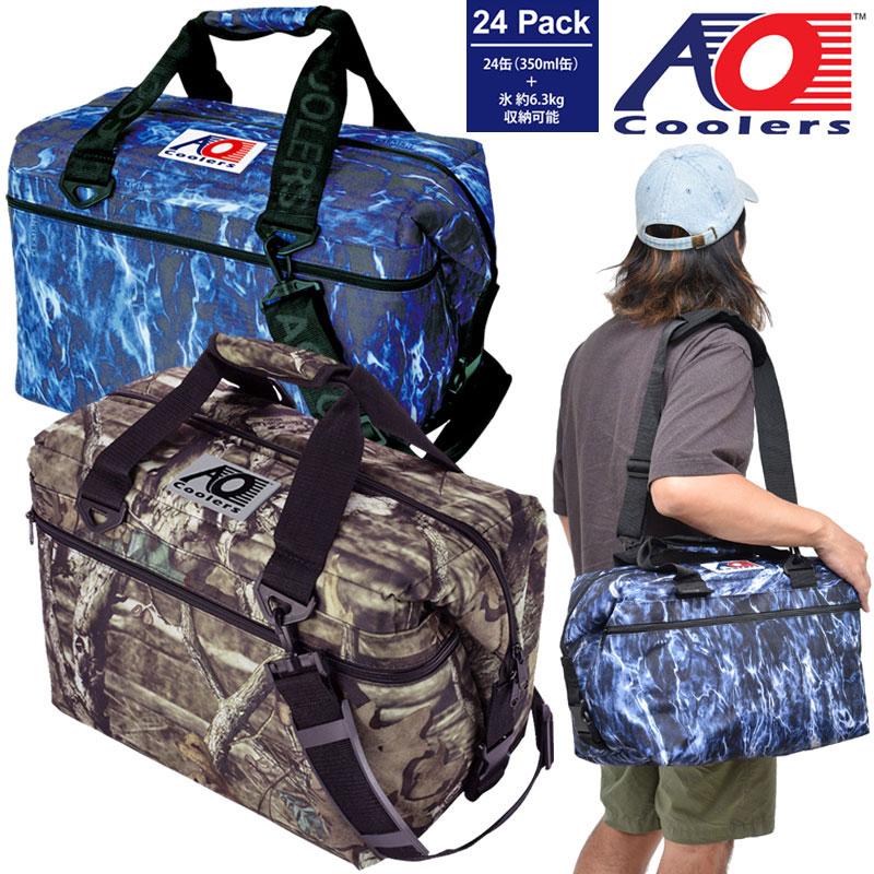 【正規取扱店】AOクーラー AO coolers 24パックキャンバスソフトクーラー(モッシーオーク)[全2色]メンズ レディース【鞄】 1908trip新生活