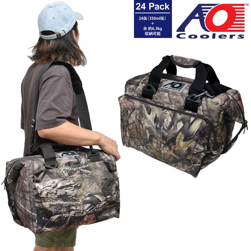 AOクーラー AO coolers 24パックキャンバスソフトクーラーデラックス(モッシーオーク)[ブレイクアップ]メンズ レディース【鞄】_1908trip
