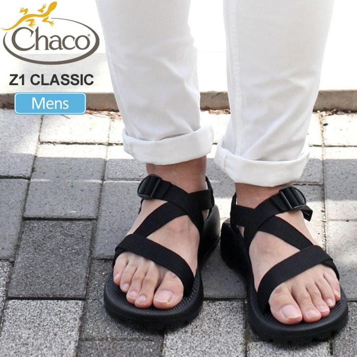 チャコ Chaco サンダル メンズ Z1クラシック ブラック 25-29cm MS Z1 CLASSIC 12366105 J105375 20SS sdl【靴】2005trip