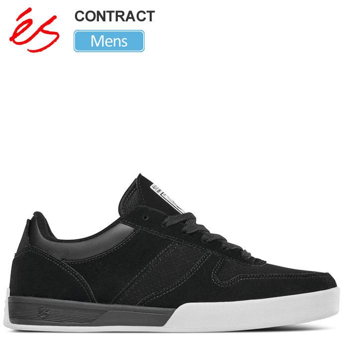 【正規取扱店】エス スニーカー 'es コントラクト[ブラック](25-28cm)CONTRACT メンズ【靴】 snk 1903trip新生活