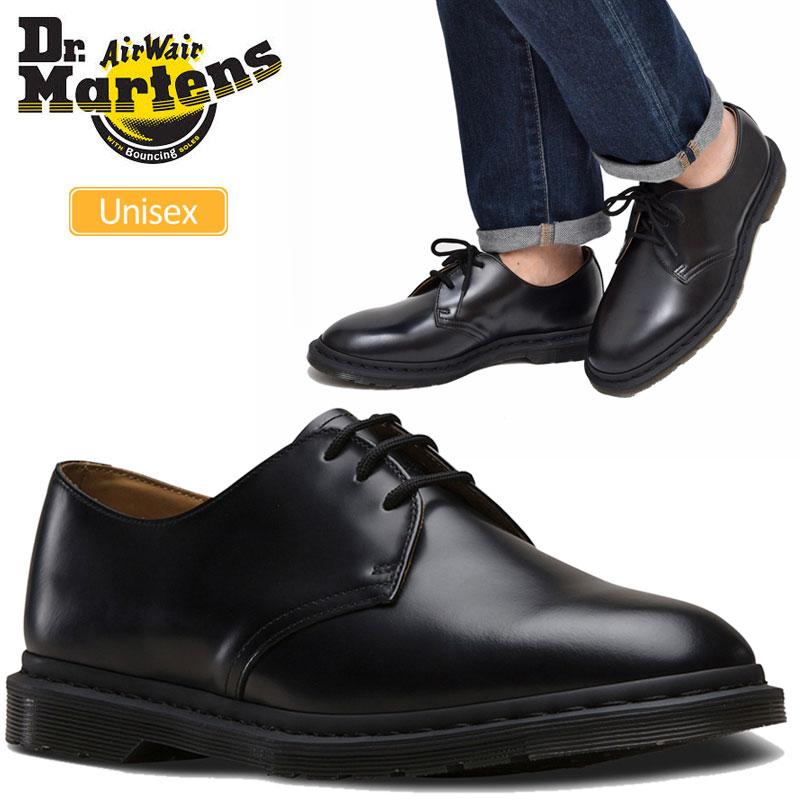 【正規取扱店】ドクターマーチン Dr.Martens アーチーII 3ホールシューズ(ブラック)(25009001 24-28cm)KENSINGTON ARCHIE II 3EYE SHOE メンズ レディース【靴】 1911trip新生活