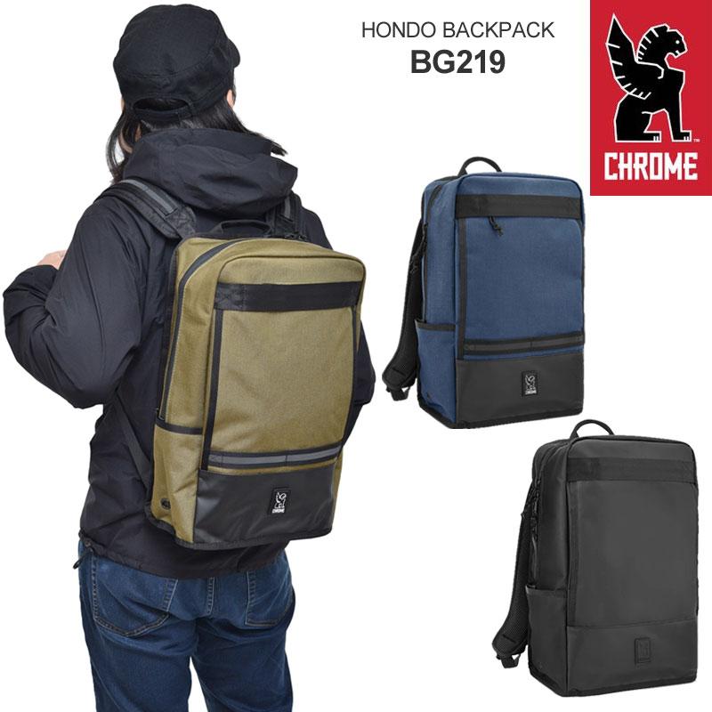 【正規取扱店】クローム CHROME バッグ リュック メンズ レディース ホンドー HONDO 21L BG219 bpk【鞄】2004trip