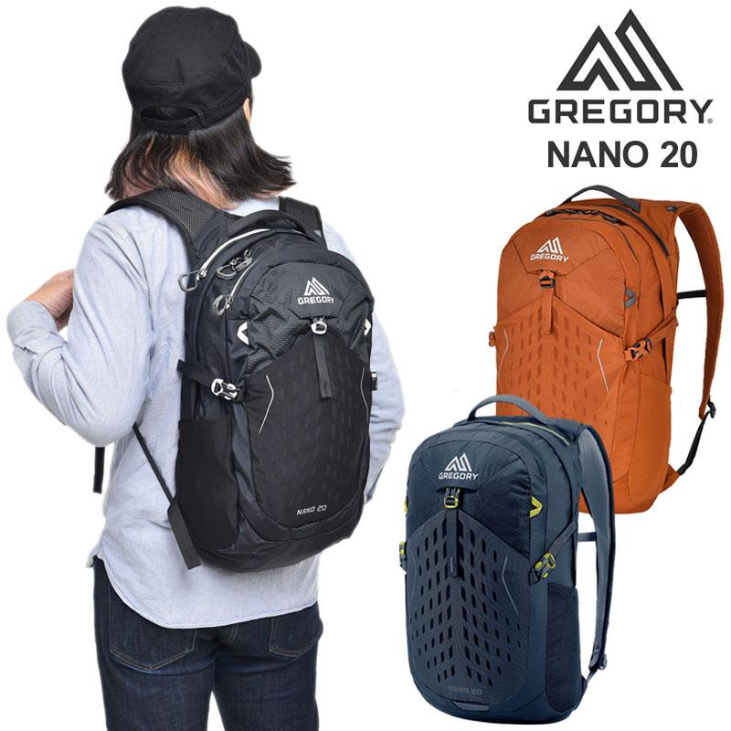 【正規取扱店】グレゴリー GREGORY リュック メンズ レディース ナノ20 NANO20 20L 20SS bpk【鞄】2004trip