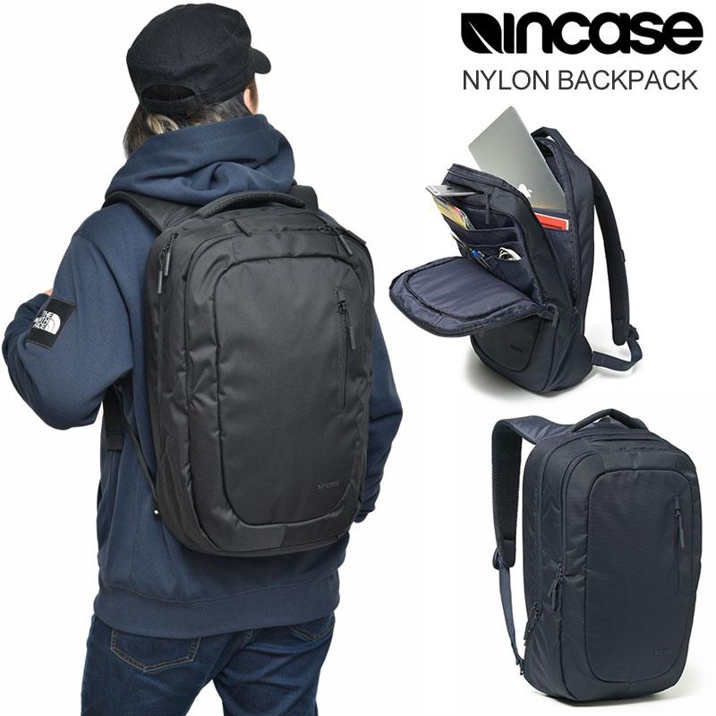 【正規取扱店】インケース リュック Incase ナイロンバックパック(全2色)NYLON BACKPACK メンズ レディース【鞄】 bpk 2001trip新生活 通勤