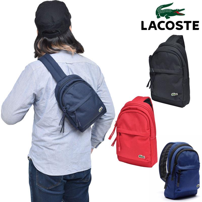 【正規取扱店】ラコステ LACOSTE ボディバッグ メンズ レディース ネオクロック NEOCROC NH3139N 20SS bdb【鞄】2004trip
