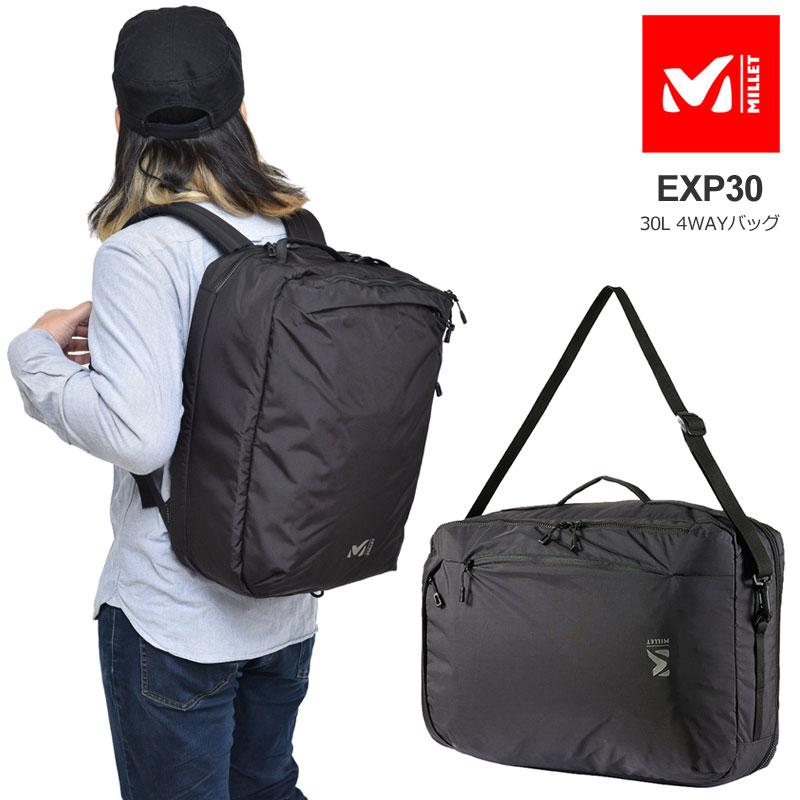 【正規取扱店】ミレー MILLET バッグ ビジネスリュック メンズ レディース EXP30(30L) MIS0695【鞄】bpk bns 2003trip