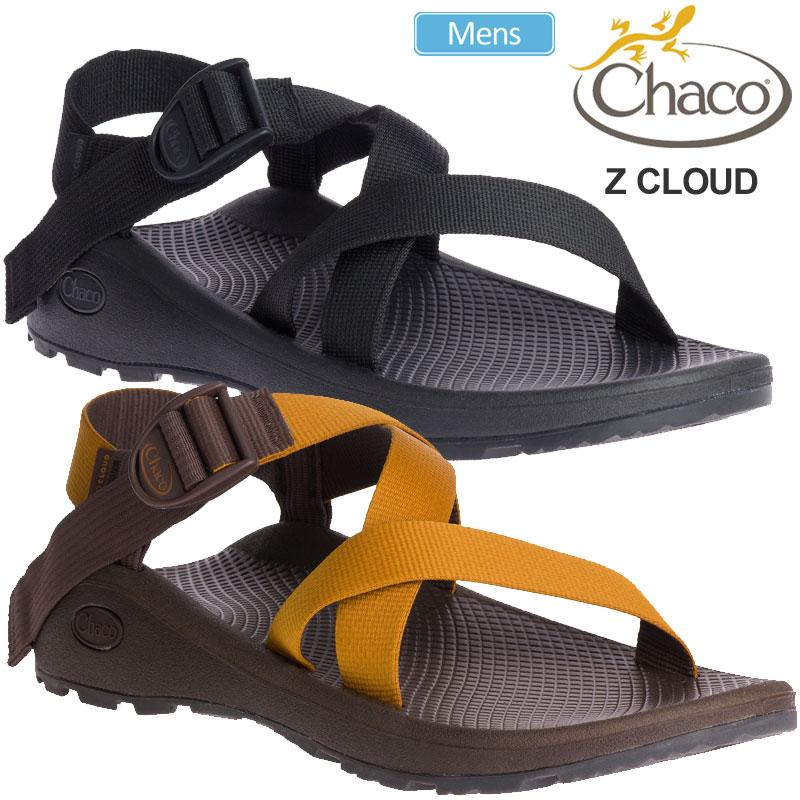 【正規取扱店】チャコ Chaco サンダル メンズ Zクラウド オカー ブラック 25-29cm MS Z CLOUD 12366108 20SS sdl【靴】2006trip