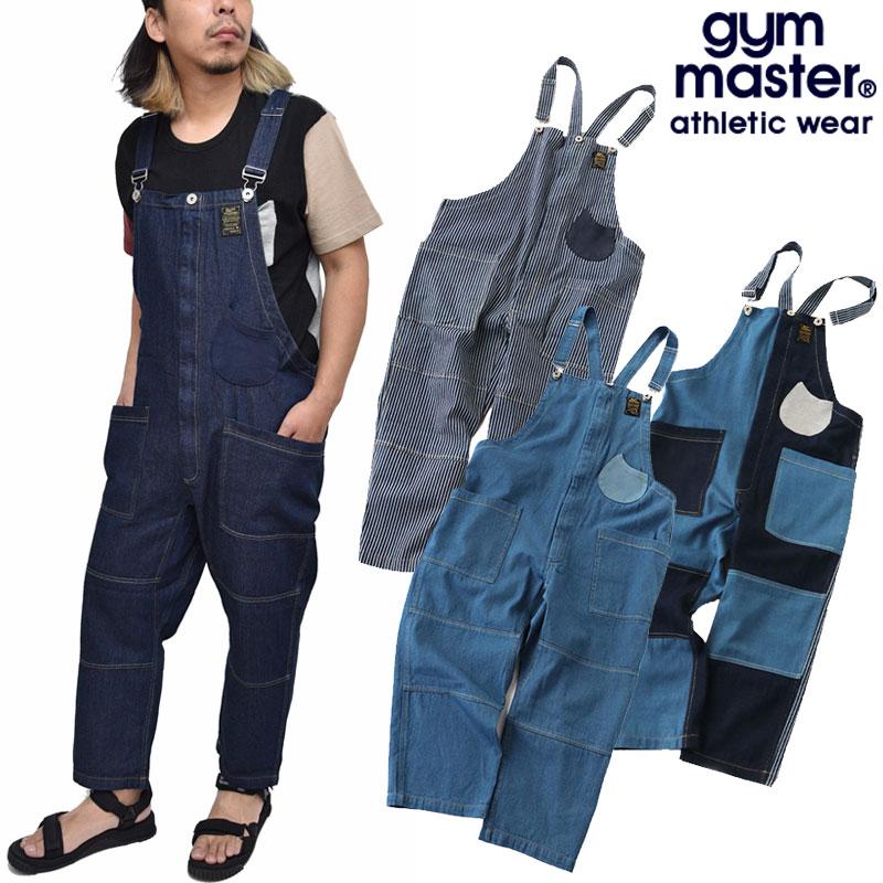【正規取扱店】ジムマスター gym master パンツ メンズ ボトムス デニムオーバーオール G357677 20SS【服】2006trip
