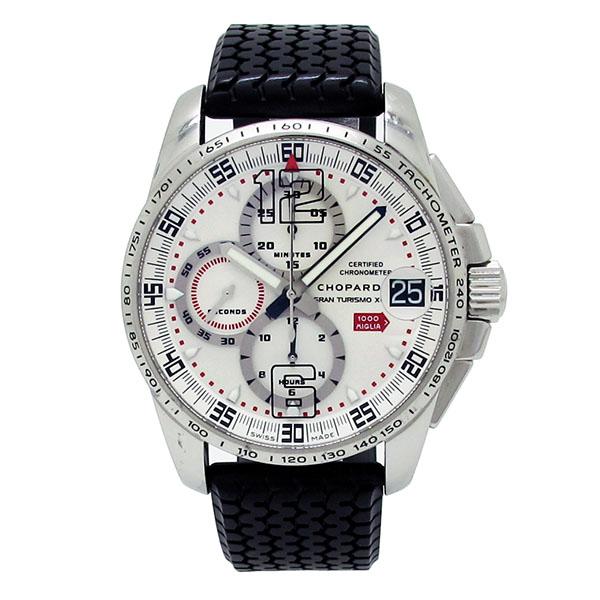 【中古】 ショパール 168459-3009 ミッレミリア GT XL クロノグラフ 2008 メンズ 自動巻き 腕時計
