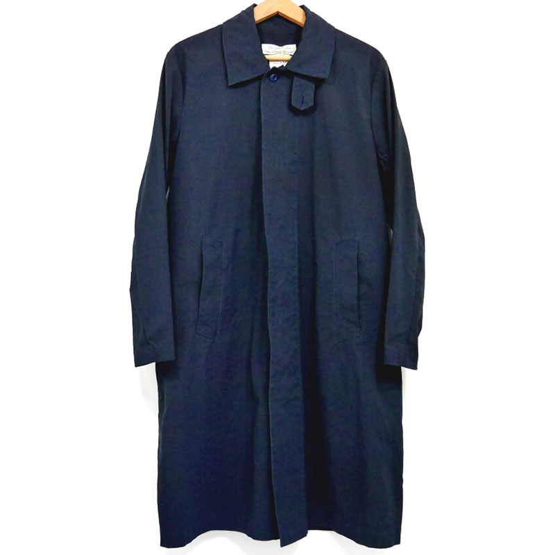 【新品】レミレリーフ ステンカラー コート L 紺 ネイビー REMI RELIEF