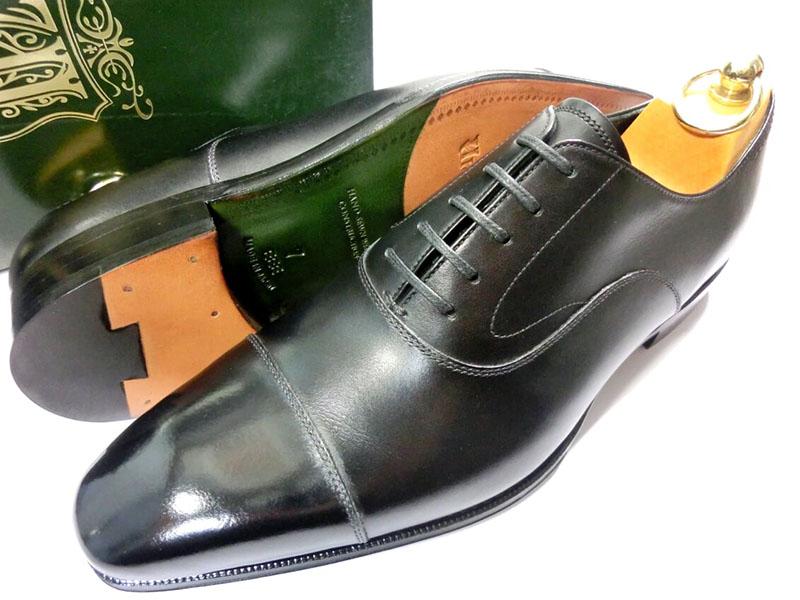【新品】ユニオンインペリアル プレステージ U1111 ストレートチップ 革靴 7 1/2 26cm 黒 ビジネスシューズ 黒スト