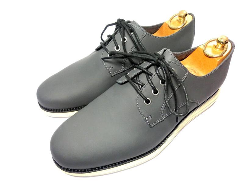 【新品】コールハーン オリジナルグランド プレーントゥ 8 26cm マグネット 革靴 ビジネスシューズ グレー COLEHAAN