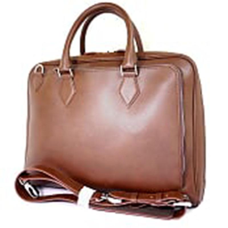 【新品】デスティニーズディメンション 2WAY ショルダー ブリーフケース 茶 ブラウン ビジネスバッグ 書類鞄 DESTINY'S DIMENSION