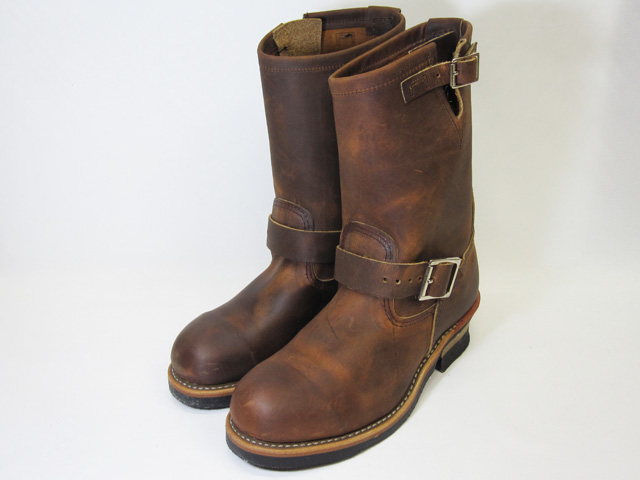 RED WING Red Wing 2972 ENGINEER BOOTS Engineer Boots ROUGH COPPER &TOUGH copper rough & tough