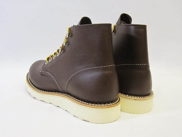 RED WING Red Wing 8134 CLASSIC WORK classic work ROUND-TOE rounds to chocolate chrome chocolate chrome