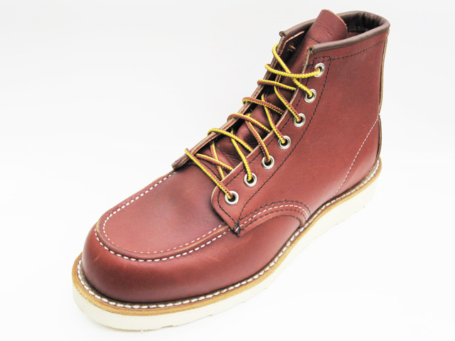 RED WING Red Wing 8875 CLASSIC WORK classic Workshop 6-inch MOC-TOE mock, to round-to oro-russet portage オロラセット Portage