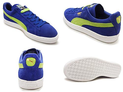 PUMA PUMA SUEDE CLASSIC + suede classic plus blue/green blue / green 15 FW