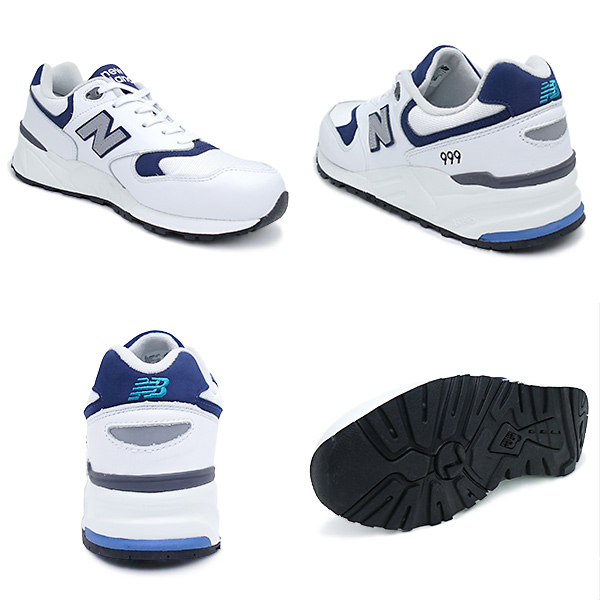 NEW BALANCE新平衡ML999 LUC white/navy白/深蓝NB 16FW