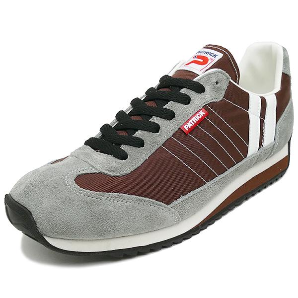 スニーカー パトリック PATRICK マラソン コーヒー/ブラウン 94869 メンズ レディース シューズ 靴