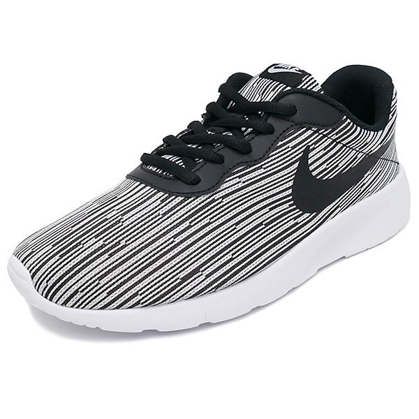 NIKE WMNS TANJUN SE GS black/white(黑色/白)859613-004 17FA
