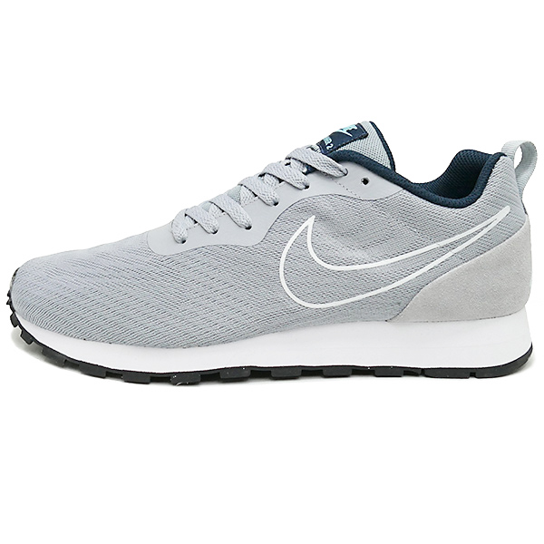 NIKE MD RUNNER 2 BR wolf grey/wolf grey/armory navy/still blue/white(沃爾夫灰色/沃爾夫灰色/amorineibi/鋼藍色/白)902815-001 17SU