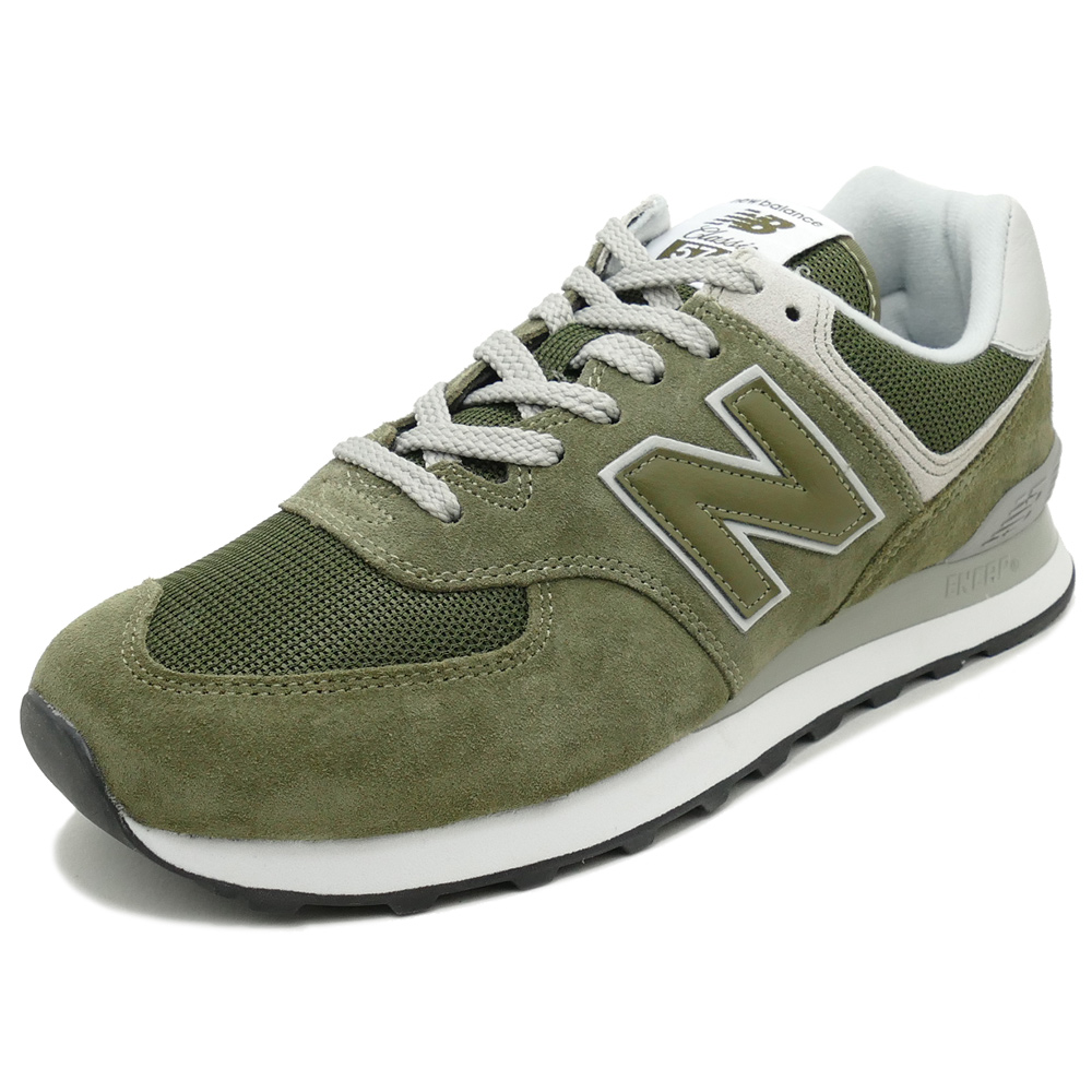 new balance 574 verde oliva